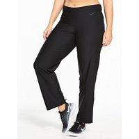 Nike Plus Size Power Poly Classic Pants - Black, Black, Size 28-30=2X, Women
