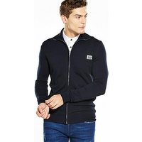 Antony Morato Knitted Zip Through, Blue, Size 2Xl, Men