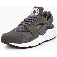 Nike Air Huarache Run, Dark Grey, Size 12, Men