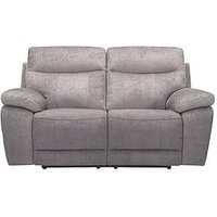 Bling 2-Seater Fabric Power Recliner Sofa