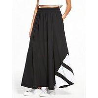 adidas Originals EQT Long Skirt - Black , Black, Size 6, Women