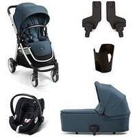 Mamas & Papas Mamas & Papas Armadillo Flip XT2 5 Piece Bundle (pushchair, Carrycot, Car Seat, Adaptor & Cupholder), Deep