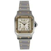 Cartier Cartier Preowned Santos Silver Dial Stianless Steel Ladies Watch 2423, One Colour, Women