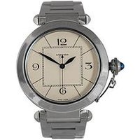 Cartier Cartier Preowned Pasha Off White Dial Stainless Stell Mens Watch Ref 2730, One Colour, Men
