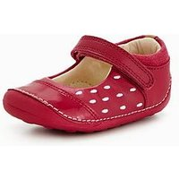 Clarks Little Lou Shoe, Pink, Size 2 Younger