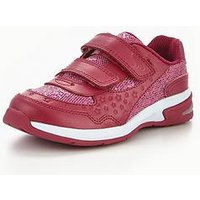 Clarks Piper Play Infant Trainer, Pink, Size 9.5 Younger