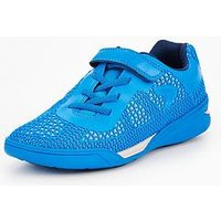 Clarks Awardblaze Junior Trainer, Blue, Size 5.5 Older