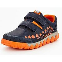 Clarks Tyrex Walk Infant Shoe, Navy, Size 9 Younger