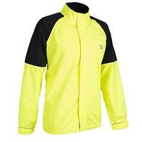 tenn Vision Mens Cycling Jacket, Yellow/Black, Size Large, Men