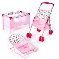 Hauck 3-In-1 Doll'S Play &Amp; Care Set