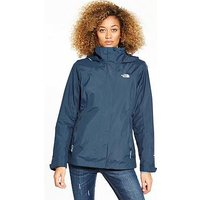 THE NORTH FACE Evolution II Tri-Climate 3-In-1 Jacket - Blue , Blue, Size M, Women