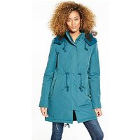 THE NORTH FACE Zaneck Parka - Blue , Blue, Size M, Women