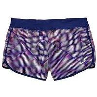 Nike Older Girl Dry Short, Multi, Size S=8-10 Years, Women