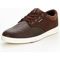 Jack & Jones Jack & Jones Gaston Casual Shoe, Brown, Size 12, Men