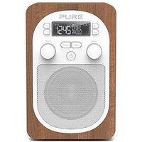 Pure Pure Evoke H2 Dab/Fm Portable Digital Radio, Walnut