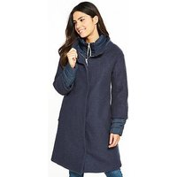 Craghoppers Elina 2-In-1 Jacket - Navy , Navy, Size 8, Women