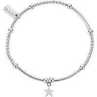 ChloBo Chlobo Sterling Silver Cute Mini Star Bracelet, One Colour, Women