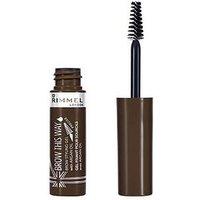 Rimmel Rimmel London Brow This Way Eyebrow Styling Gel with Argan Oil 5ml, Dark Brown, Women