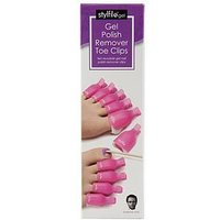 Stylfile Stylfile Gel Nail Polish Remover Toe Clips, One Colour, Women