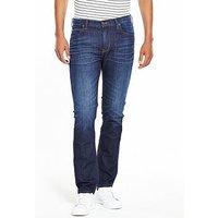 Lee Rider Slim Jeans, Hudson Blue, Size 30, Length Long, Men