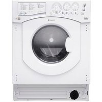 Hotpoint Aquarius Bhwd129 Integrated 6.5Kg/5Kg 1200 Spin Washer Dryer - White - Washer Dryer Only