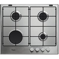 Whirlpool Absolute Gma6411Ix Built-In Gas Hob - Stainless Steel - Hob Only