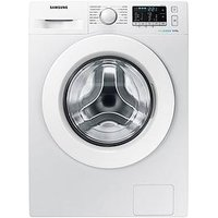 Samsung Ww80J5355Mw/Eu 8Kg Load, 1200 Spin Washing Machine  With Ecobubble&Trade; Technology And 5 Year Samsung Parts And Labour Warranty - White