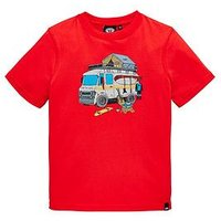 Animal Boys Sable Graphic T-shirt, Red, Size 15-16 Years