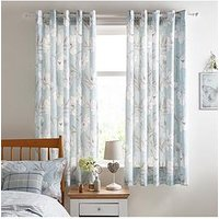 Ideal Home Sophia Lined Eyelet Curtains