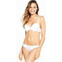 Wonderbra Modern Chic Brazilian Brief - White, White, Size Xl, Women