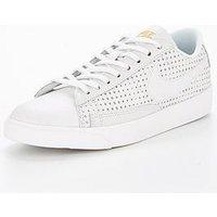 Nike Blazer Low SE Premium, White/Gold, Size 4.5, Women