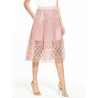 V By Very Full Lace Skirt