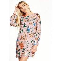 Little Mistress Floral Shift Dress, Light Multi, Size 8, Women