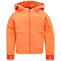 adidas Toddler Girls Zne 2pulse Hoody, Coral, Size 5-6 Years, Women