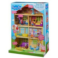 Peppa Pig Peppa Pig Lights &Amp; Sounds Family Home Playset