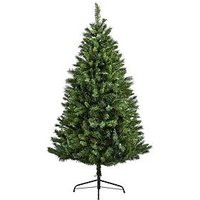 Product photograph showing Green Regal Fir Christmas Tree 7ft
