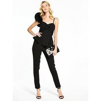 V By Very Frill One Shoulder Jumpsuit