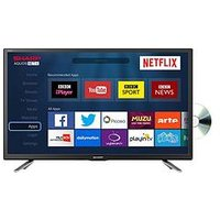 Sharp Lc-24Dhg6131K, 24 Inch, Hd-Ready, Smart Tv With Built-In Dvd Player