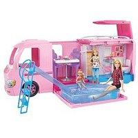Barbie Dream Camper Playset With Pool