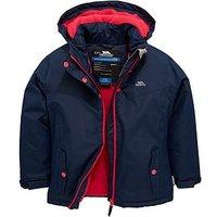 Boys, Trespass Maybole Insulated Jacket, Navy, Size 7-8 Years