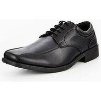 Unsung Hero Bradbury Lace Up Shoe, Black, Size 9, Men