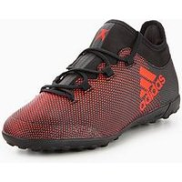 adidas Adidas Junior X 17.3 Astro Turf Football Boot, Core Black, Size 4