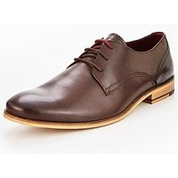 Unsung Hero Oska Formal Lace Up - Brown, Brown, Size 6, Men