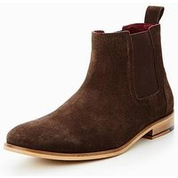 Unsung Hero Lore Suede Chelsea Boot, Brown, Size 9, Men
