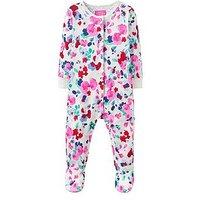 Joules Baby Girls Razamataz Babygrow, Cream Bloom, Size 0-3 Months