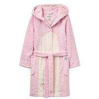 Joules Girls Tweetie Character Dressing Gown, Rose Pink, Size Age: 5-6 Years, Women