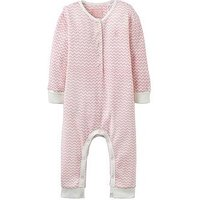 Joules Baby Girls Pippin Rose Pink Waffle Babygrow, Rose Pink, Size 18-24 Months