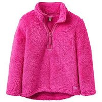 Joules Girls Merridie Pink Fleece, Pink, Size Age: 1 Year, Women