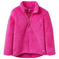 Joules Girls Merridie Pink Fleece, Pink, Size Age: 4 Years, Women