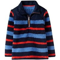 Joules Boys Woozle Fleece, Multi Stripe, Size 1 Year